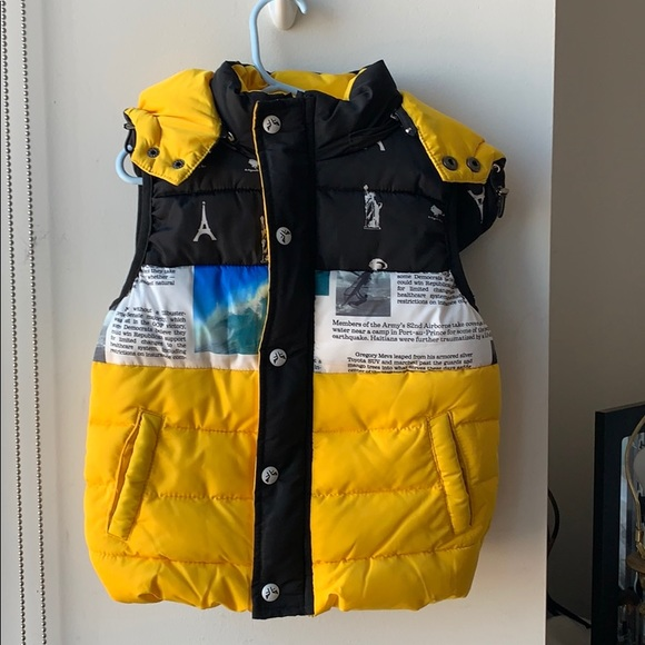 Other - Toddler Hooded Puffer Vest